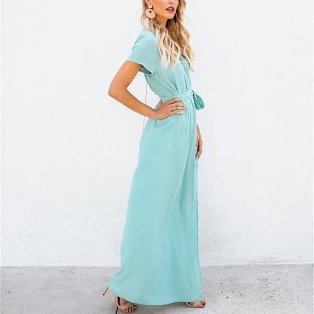 Women Summer Casual OL Dress 2019-Doremon store-LILLY OUTFITS