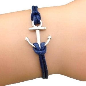 Simply Anchor Blue Bracelet 50% Off Today