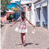 2019 Summer Fashion Sexy Mini Dress New Arrivals-LILLY OUTFITS-LILLY OUTFITS