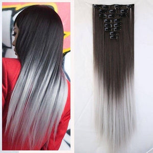 Finest Quality Full Head Remy Clip In Human Hair Extensions