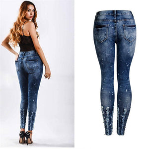 Fashion Jeans for Women Denim Jeans 2019-Doremon store-LILLY OUTFITS