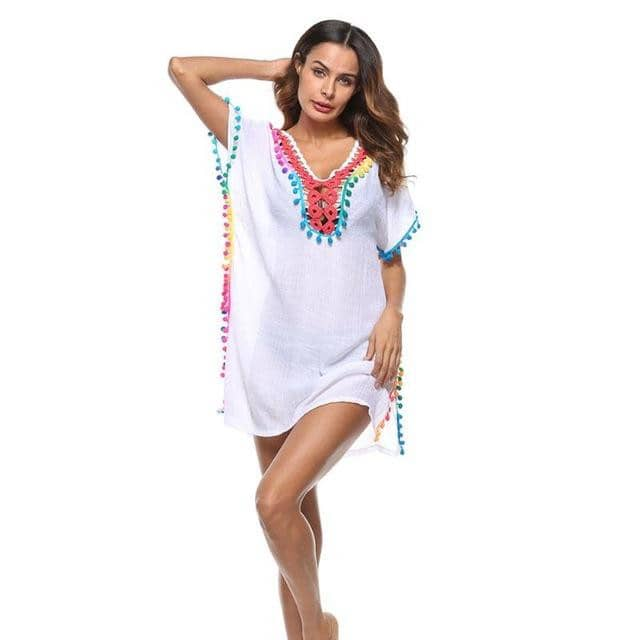 2019 Women Loose Bikini Cover Up-LILLY OUTFITS-LILLY OUTFITS