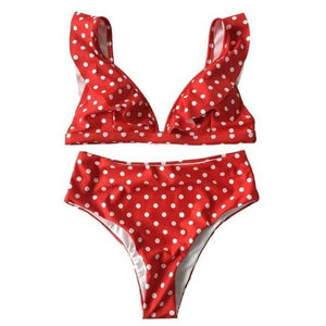 2019 Sexy High Waist Bikini Women Swimwear-LILLY OUTFITS-LILLY OUTFITS