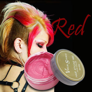 Hair Dye Wax,Temporary Hairstyle Hair Color Cream 50% Off Today