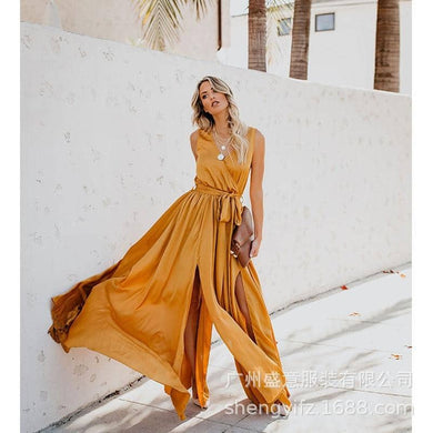 2019 Women Summer Bohemian Sexy Fashion