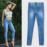 Hot Sexy Skinny Denim Pencil Pants 2019