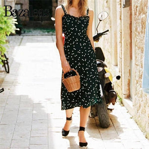 Back Bow Casual women Dress