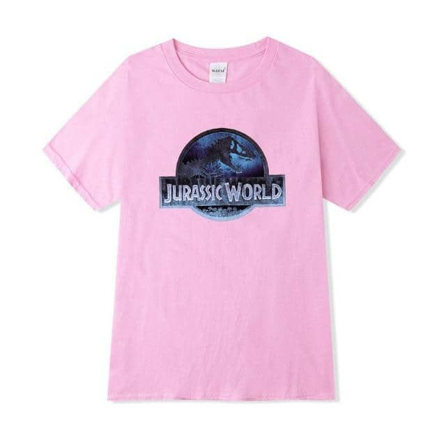Jurassic Park Women T Shirts Summer Short Sleeve women S-2XL-LILLY OUTFITS-LILLY OUTFITS