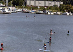 SUP Lesson Harborwalk Lorain