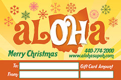 Aloha SUP Paddle Board Gift Card
