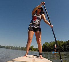 SUP Lesson Alum Creek