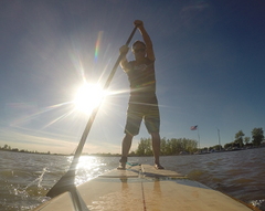 Paddle Board Lesson Port Clinton