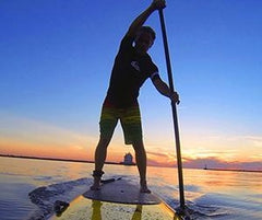 Aloha SUP Session Hoover Reservoir