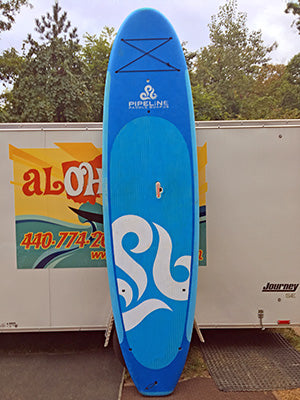 Used Paddle Boards >> Pipeline Paddle Boards Squid 11 0 Used Aloha Sup