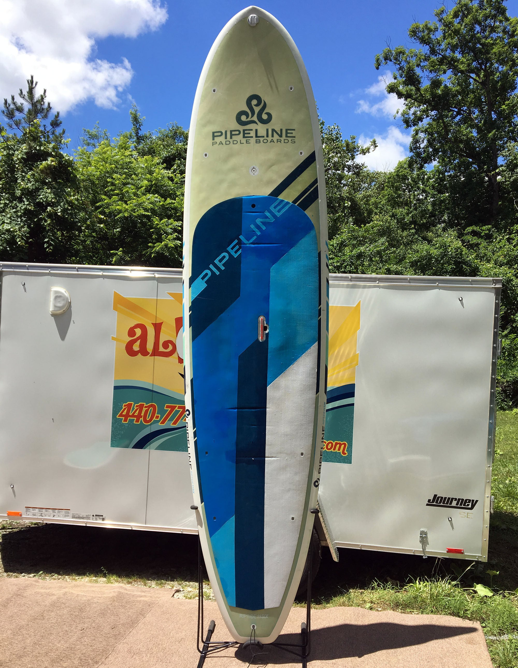 Used Paddle Boards >> Pipeline Paddle Boards Riptide 11 6 Used