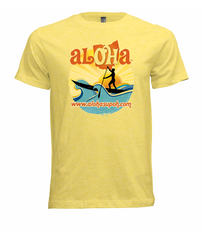 Aloha OH Paddler T-Shirt Yellow