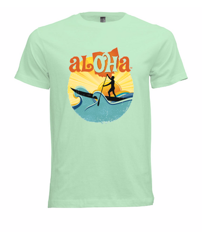Aloha OH Paddler T-Shirt Mint