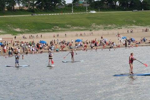 Edgewater Live Guided Paddle Board Rental - (30 Minutes)