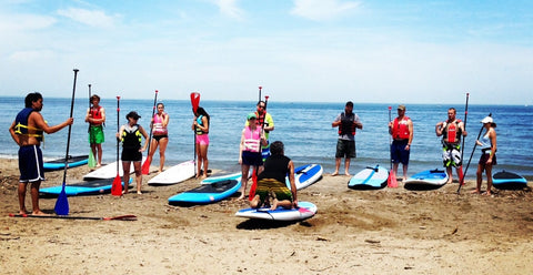 Edgewater Live SUP Lesson