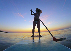 Sunset Paddle Huntington Beach