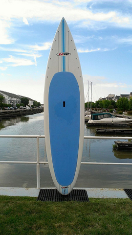 NSP Flatwater 12' Paddle Board Used/Demo (Sold)