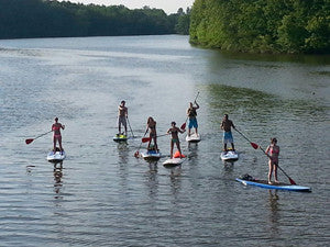SUP Group Event Alum Creek State Park