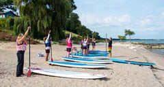 SUP Lesson Firefly Beach Huron