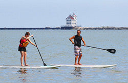SUP Lesson Edgewater Park