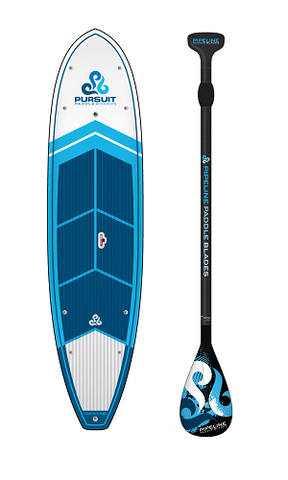 Pursuit PaddleBoards Frontside 11-6 & Carbon Paddle Package with Thule SUP Taxi