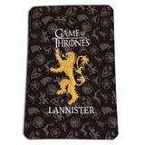 HOUSE STARK OF WINTERFELL JEU DE THRONES COUVERTURE SOUPLE IMPRIMÉ PLAID
