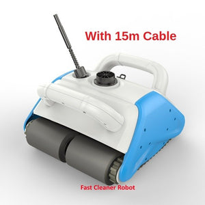 Newest Robot Vacuum Cleaner For Swimming Pool Cleaner With Newest Floating Recharged Battery,Wall Cleaning ,Remote Control