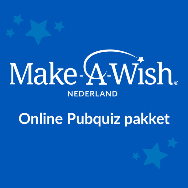 Make-A-Wish online pubquiz pakket