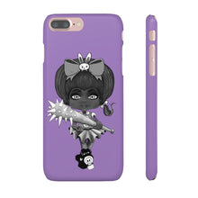 Load image into Gallery viewer, Attitude Goth Dark Style Snap Case in Purple