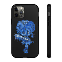 Load image into Gallery viewer, Attitude Blue Fill Style Tough Case in Black