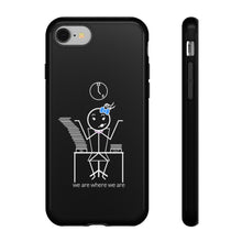 Load image into Gallery viewer, Female Office Worker Tough Phone Case Dark