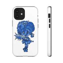 Load image into Gallery viewer, Attitude Blue Fill Style Tough Case in White