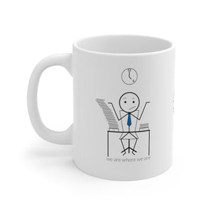 Male Office Worker Mug