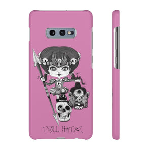 Troll Hater Goth Light Style Snap Case in Pink