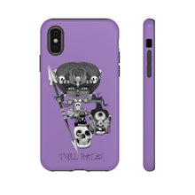 Load image into Gallery viewer, Troll Hater Goth Dark Style Tough Case in Purple
