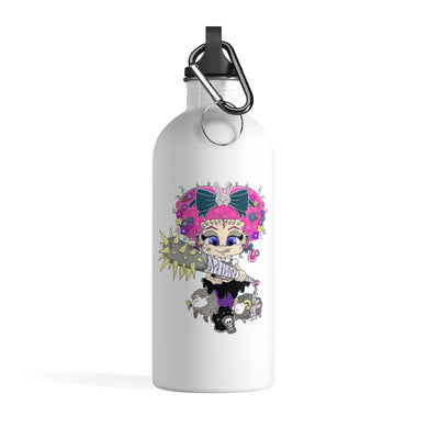 Attitude Cartoon Style Stainless Steel Water Bottle