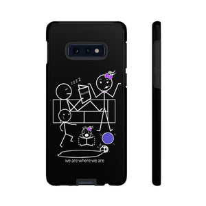 Mom Tough Phone Case Dark