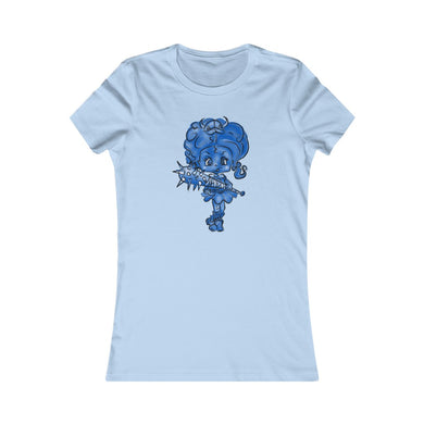Attitude Blue Fill Style Slim Fit Tee