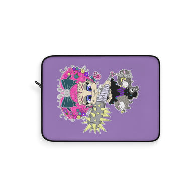 Attitude Cartoon Style Laptop Sleeve