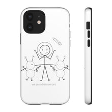 Load image into Gallery viewer, Astronaut Tough Phone Case Light