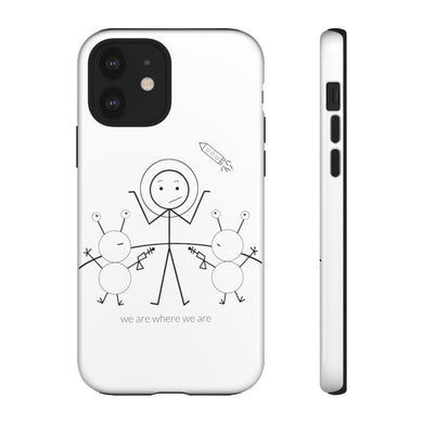 Astronaut Tough Phone Case Light