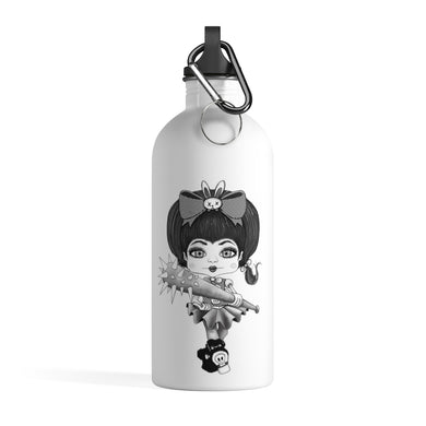Attitude Goth Light Style Stainless Steel Water Bottle