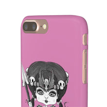 Load image into Gallery viewer, Troll Hater Goth Light Style Snap Case in Pink