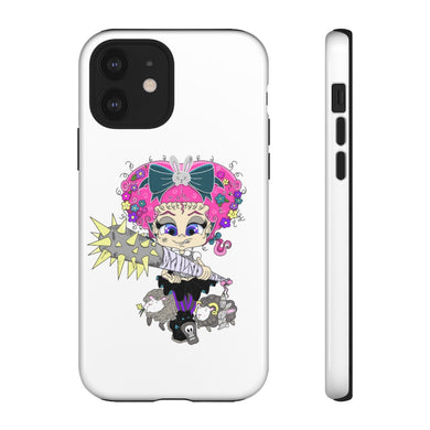 Attitude Cartoon Style Tough Case in White
