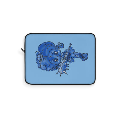Attitude Blue Fill Laptop Sleeve