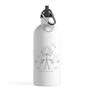 Astronaut Stainless Steel Water Bottle